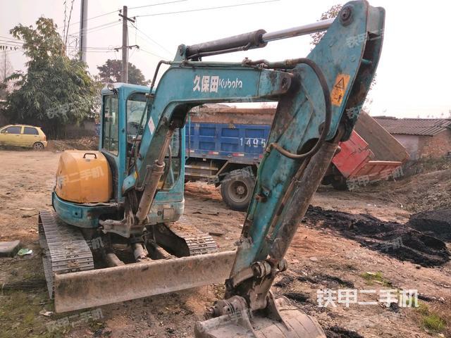 四川成都市久保田KX155-3S挖掘机