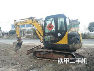 现代R55-7S挖掘机