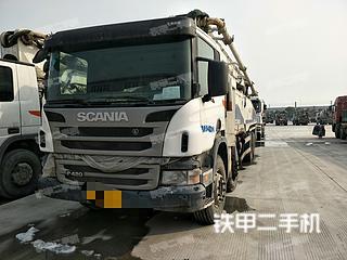江苏-泰州市二手中联重科ZLJ5419THB 52X-6RZ泵车实拍照片