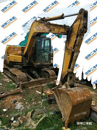 云南-大理白族自治州二手山重建机JCM908C挖掘机实拍照片