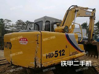 加藤HD512挖掘机