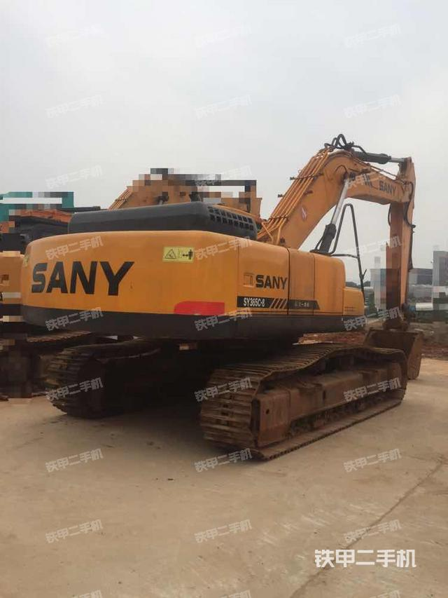湖南湘潭市三一重工SY365C-8挖掘机