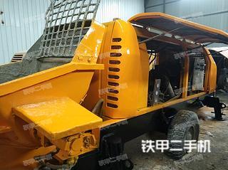中联重科HBT60.16.110SU拖泵实拍图片