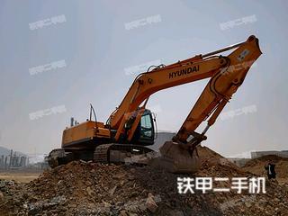 现代R305LC-7挖掘机
