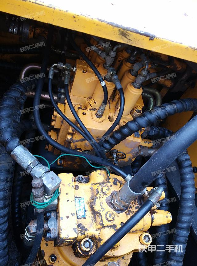 现代r225-7挖掘机图片