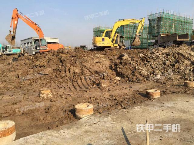 江苏连云港市小松PC60-7挖掘机