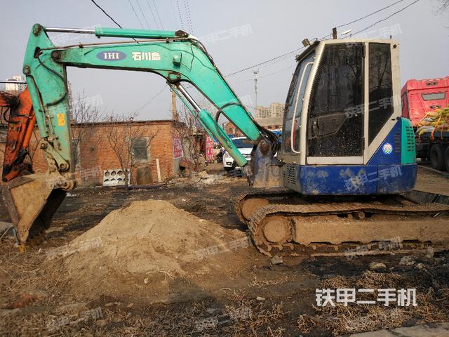 石川岛ihi 80ns挖掘机