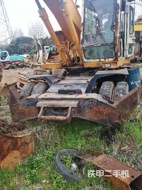 浙江宁波市现代R210W-9挖掘机