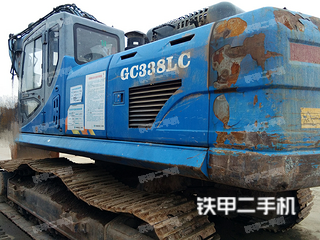 山重建机GC338LC-8挖掘机
