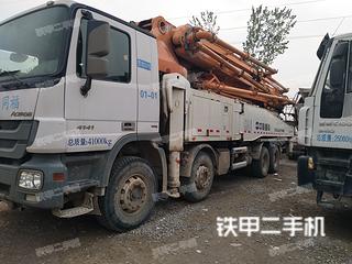 中联重科ZLJ5433THB奔驰底盘泵车