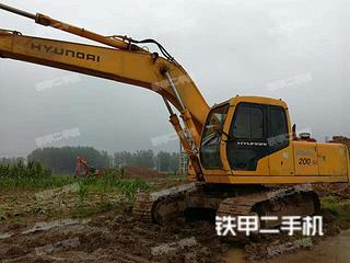 现代R200-5挖掘机
