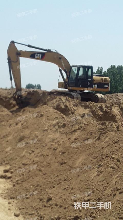 河南濮阳市卡特彼勒320D挖掘机