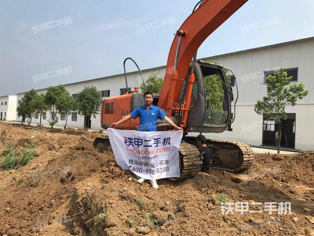 河南南阳市日立ZX120国产挖掘机