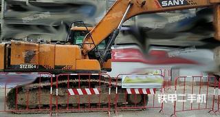 三一重工SY215C挖掘机