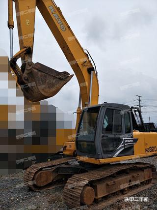加藤HD820R挖掘机