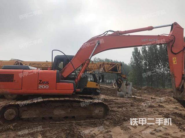 江苏徐州市日立ZX200-6挖掘机