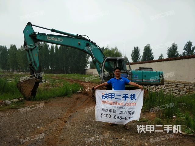 山东枣庄市神钢SK350LC-6E挖掘机
