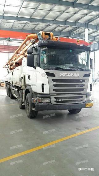 中联重科ZLJ5530THBK 63K-6RZ斯堪尼亚泵车