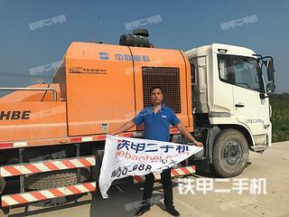 中联重科ZLJ5160THB22泵车