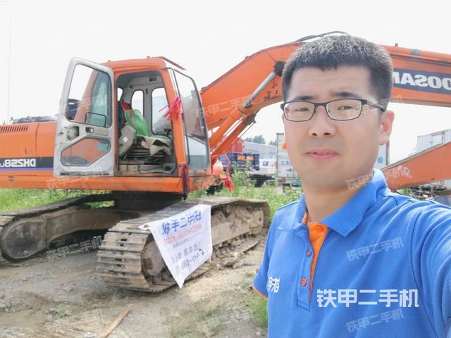 山东济宁市斗山DH220LC-7挖掘机