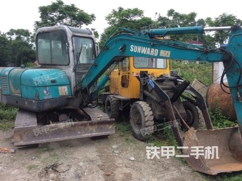 四川成都市山河智能SWE50挖掘机