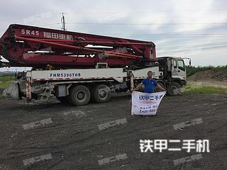福田雷萨FHM5390THB45泵车