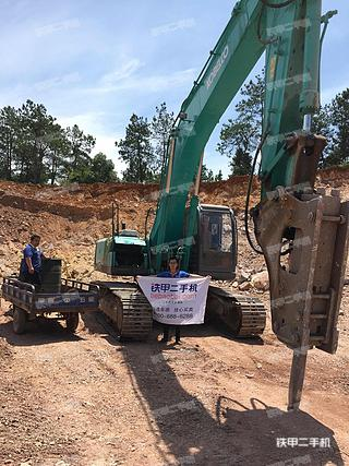 神钢SK350LC-6E挖掘机