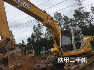加藤HD823MR挖掘机