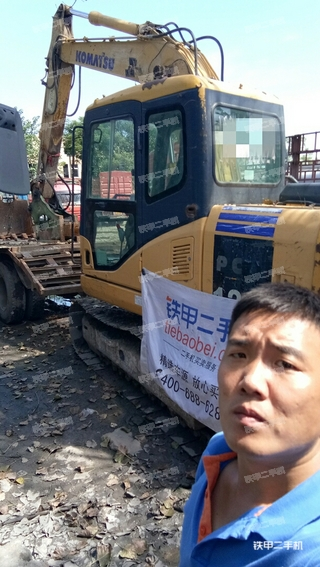 小松PC110-7挖掘机