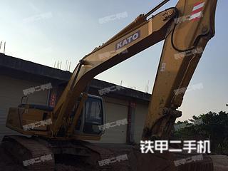 加藤HD820挖掘机