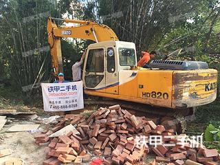 加藤HD820LC-2挖掘机