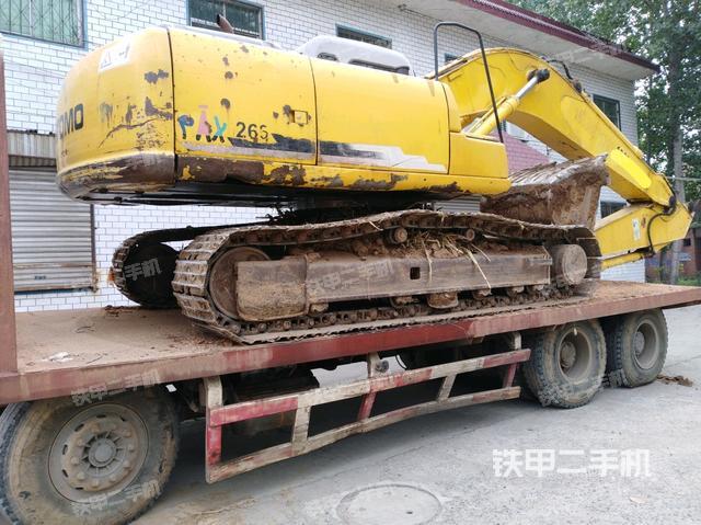 河南洛阳市住友SH200-3挖掘机