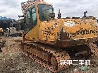 现代R130LC-5挖掘机
