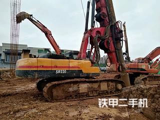 三一重工SR220R入岩旋挖钻
