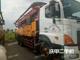 三一重工SY5310THB40R40D泵车