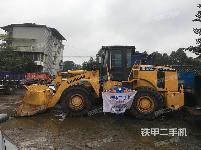 四川德阳市柳工ZL50CN装载机