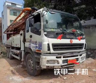 中联重科ZLJ5270THBK38泵车