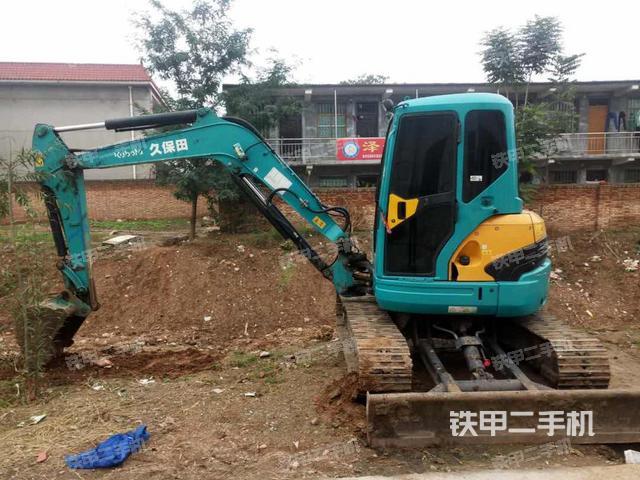 陕西西安市久保田KX155挖掘机
