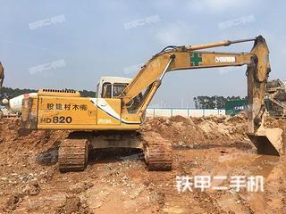 加藤HD820E挖掘机