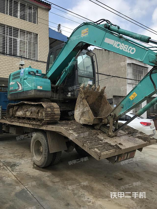 湖北潜江市神钢SK75-8挖掘机