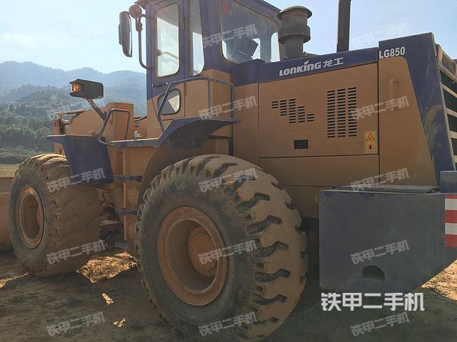 福建龙岩市龙工LG850装载机