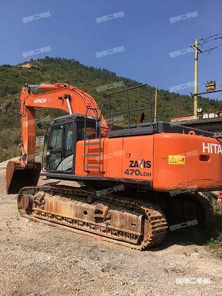 日立ZX470LCH-5G进口挖掘机