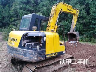 现代R80-7B挖掘机