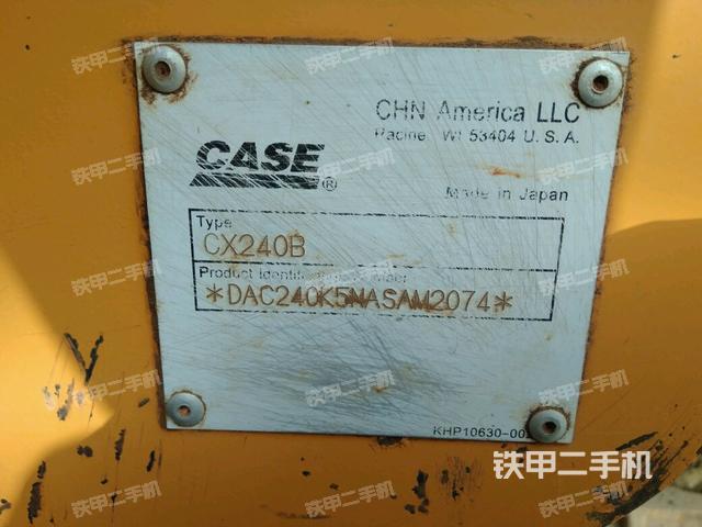 河北保定市场凯斯CX240B挖掘机