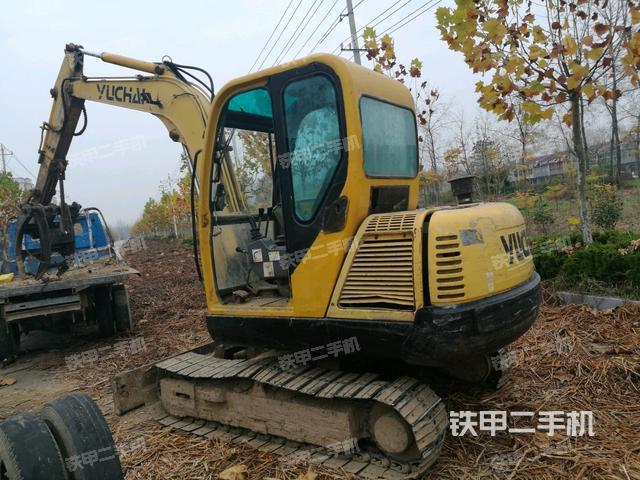 江苏宿迁市玉柴YC60-7挖掘机