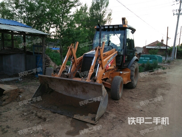 辽宁抚顺市凯斯580M3两头忙