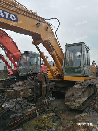加藤HD900挖掘机