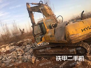 现代R260LC-5挖掘机