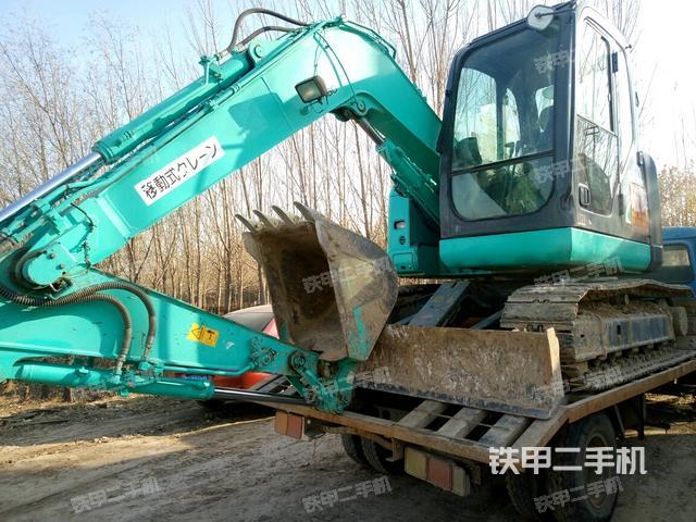 神钢sk70sr-2挖掘机图片