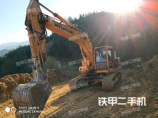 现代R225-7挖掘机